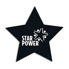 Promotional Star Recycled Tire Small Coaster
