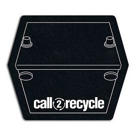 Customized Battery Recycled Tire Medium Coaster