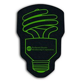 Promotional Cfl Bulb Recycled Tire Medium Coaster