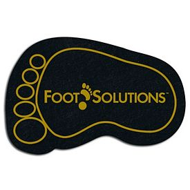 Promotional Foot Recycled Tire Medium Coaster