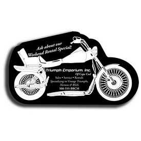 Promotional Motorcycle Recycled Tire Medium Coaster