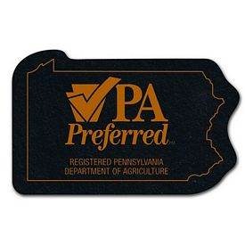 Customized Pennsylvania Recycled Tire Medium Coaster