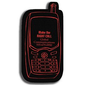 Promotional Cell Phone Recycled Tire Medium Coaster
