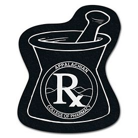 Customized Mortar And Pestle Recycled Tire Medium Coaster