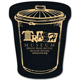 Promotional Trash Can Recycled Tire Medium Coaster