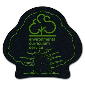 Promotional Tree Recycled Tire Medium Coaster