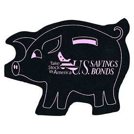 Promotional Piggy Bank Re-Tread Medium Jar Opener