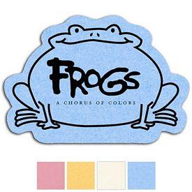 Custom Frog Compressed Small Sponge