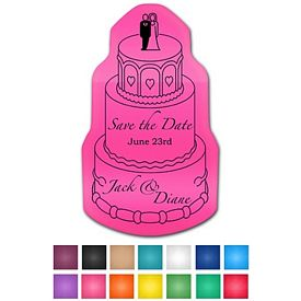 Promotional Wedding Cake Ez Gripper Medium Vinyl Jar Opener