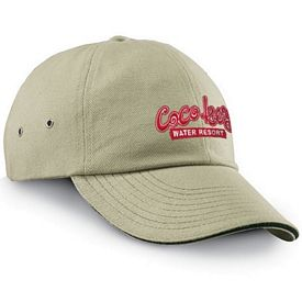 Customized Adams CT102 6-Panel Low-Profile Ultra Heavyweight Brushed Twill Sandwich Cap