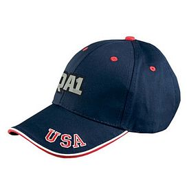 Customized Adams NT102 6-Panel Mid-Profile Cap with USA Embroidery