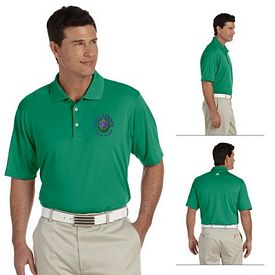 Customized adidas A121 Mens ClimaLite Short-Sleeve Pique Polo