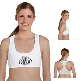 Customized All Sport W2002 Ladies Mesh Back Sports Bra
