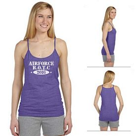 Customized Anvil 325 Ladies Semi-Sheer Spaghetti Strap Tank Top