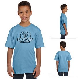 Customized Anvil 490B 4.5 oz Youth Organic Fashion T-Shirt