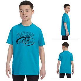 Customized Anvil 705B 5.4 oz Youth Heavyweight T-Shirt