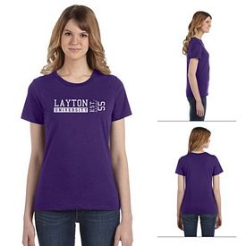 Customized Anvil 880 4.5 oz Ladies Fashion Ringspun T-Shirt