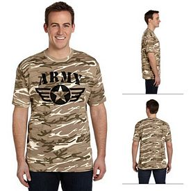 Customized Anvil 939 4.9 oz Adult Camouflage T-Shirt