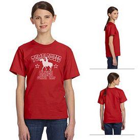 Customized Anvil OR420B 5 oz Oeko-Tex Youth T-Shirt