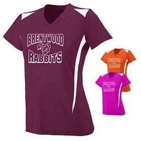 Customized Augusta Sportswear 1055 Ladies Premier Crew Shirt