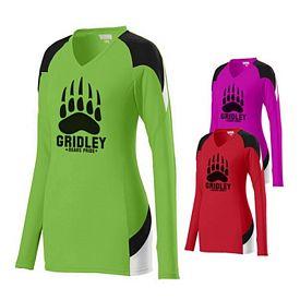 Customized Augusta Sportswear 1320 Ladies Set Sport Jersey Shirt