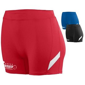 Customized Augusta Sportswear 1335 Ladies Althetic Stride Shorts