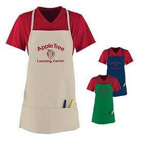 Customized Augusta Sportswear 2060 Medium Apron with Pouch