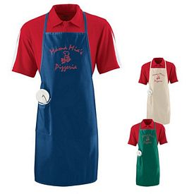Customized Augusta Sportswear 2070 Long Apron with Pocket
