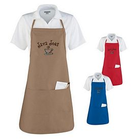 Customized Augusta Sportswear 2300 Apron with Adjustable Neck Loop and Waist Ties