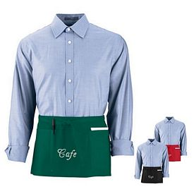 Customized Augusta Sportswear 2700 Cafe Waist Apron