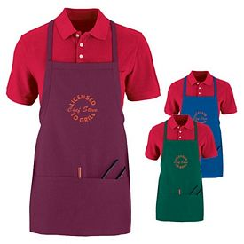 Customized Augusta Sportswear 2710 Tavern Apron with Pouch