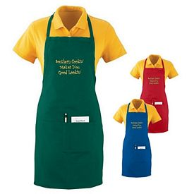 Customized Augusta Sportswear 2730 Oversized Waiter Apron with Pockets