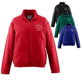 Customized Augusta Sportswear 3540 Chill Fleece Full Zip Jacket