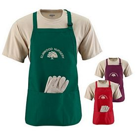 Customized Augusta Sportswear 4250 Medium Length Apron with Pouch