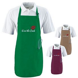 Customized Augusta Sportswear 4350 Full Length Apron with Pockets
