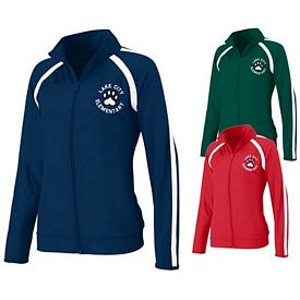 Customized Augusta Sportswear 4700 Ladies Poly-Spandex Jacket