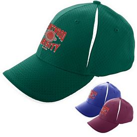 Customized Augusta Sportswear 6234 Sport Flex Color Block Athletic Mesh Cap