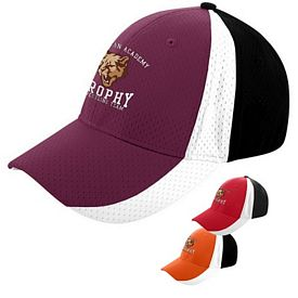 Customized Augusta Sportswear 6247 Sport Flex Three-Color Athletic Mesh Cap