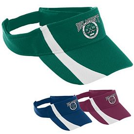 Customized Augusta Sportswear 6260 Adjustable Wicking Mesh Two-Color Visor