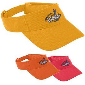 Customized Augusta Sportswear 6267 Adjustable Wicking Mesh Visor