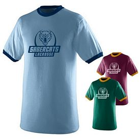 Customized Augusta Sportswear 710C Color Ringer T-Shirt