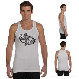 Customized Bella 3400C Men's 2x1 Rib Tank
