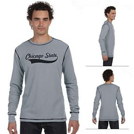 Customized Bella 3500 Men's Thermal Long-Sleeve T-Shirt