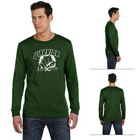 Customized Bella 3501 Men's Jersey Long-Sleeve T-Shirt
