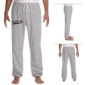 Customized Bella 3737 Unisex Fleece Long Scrunch Pant
