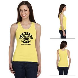 Customized Bella 4000 Ladies' 2x1 Rib Tank
