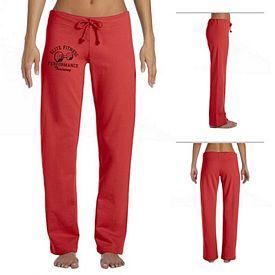 Customized Bella 7017 Ladies' Fleece Straight Leg Sweatpant