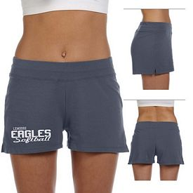 Customized Bella 825 Ladies' Cotton/Spandex Fitness Short