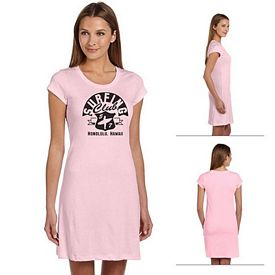 Customized Bella 8412 Ladies' Vintage Jersey Short-Sleeve T-Shirt Dress