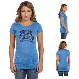 Customized Bella 8601 Ladies' Burnout Short-Sleeve T-Shirt